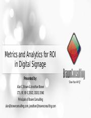 Metrics-and-Analytics-for-ROI-in-Digital-Signage-10-3-13.pptx