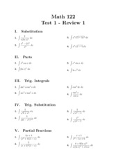 Math 122 Test 1 Review 1