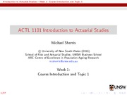 ACTL1101Week1Lecture