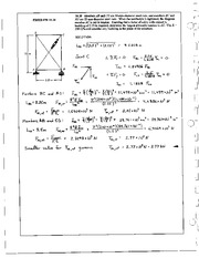 1213_Mechanics Homework Mechanics of Materials Solution