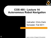 COS495-Lecture14-MarkovLocalization