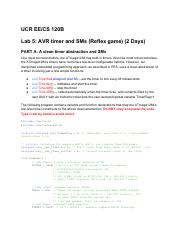 Lab 5 - AVR Timer and synchSMs (Reflex Game)(1).pdf