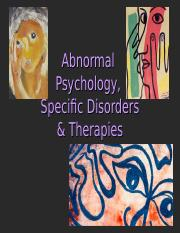 Abnormality, Disorders, & Therapy.ppt