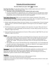 PP110 Second Essay Topics and Guide