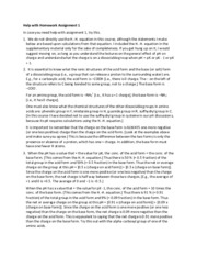 Help on Assign 1