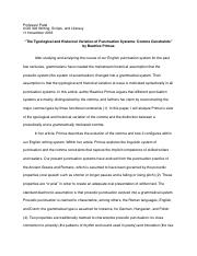 How To Write A Proposal Essay Example  Pages History Of Punctuation Essay  English Essay Speech also Business Essay Format History Of Punctuation Essay   Professor Patel Ugs  Writing  Professional Writing Service