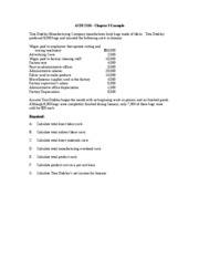ACIS 2116 Chapter 3 Attendance Quiz Example Spring 2009-1