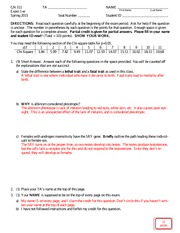 Exam 1-w Answers Spring 2015