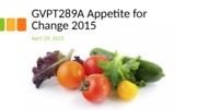 GVPT289A-15 April 29 Food Sovereignty