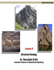 Lecture 8-Structure geology