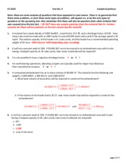 CE331-Test-3-Sample-Questions-F15