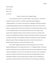 poetry explication sample of admiring its oddities and  6 pages drama paper 3