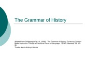 05 The Grammar of History Texts