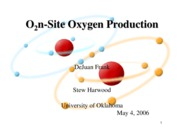 Medical O2 Production Presentation