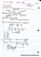 Math 115 sin functions and amplitudes