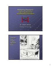 C070 - Marketing Research - 09 11 2013 - Ch 04