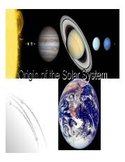 19 Origin of the Solar System 2015.pdf