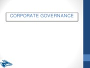 BMGT 892 - Corporate Governance