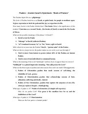 Psalms Study Guide_1.doc