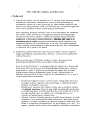 Notes on Civilization and its Discontents