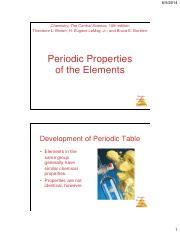 CHM11-3 Lecture on Periodic properties