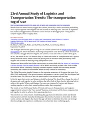23rd Annual Study of Logistics and Transportation Trends-2