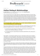 Online Dating & Relationships _ Pew Research Center's Internet & American Life Project