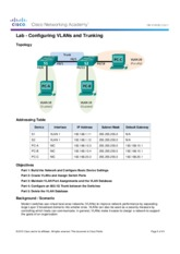 3.2.2.5 Lab - Configuring VLANs and Trunking.pdf
