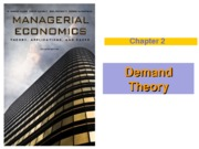 Chapter 2 (Demand Theory), Winter 2013