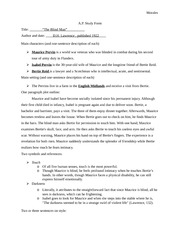 Heath fiction AP FORMS