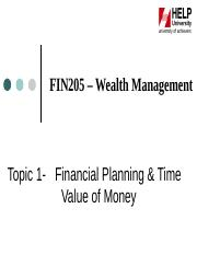 Topic_1_-_Personal_Finance_Basic_and_Time_value_of_Money