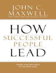 How Successful People Lead.pdf