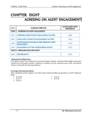 Chapter 8 Preliminary Engagement Activities