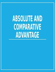 Lesson 02-Absolute and Comparative Advantage.pptx