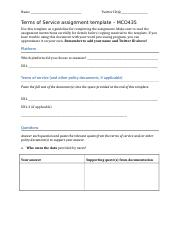 TOS assignment template.doc