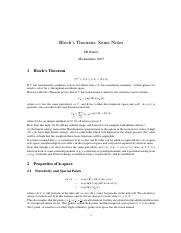 Bloch's Theorem _ Some Notes.pdf