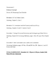 Government 1, Section 20, Remaining Schedule (1).docx