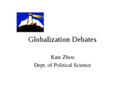 globalization debate 2011-1