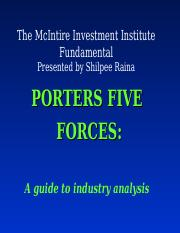 Porter_s Five Forces2.ppt