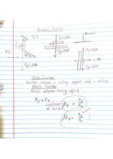 normal force notes