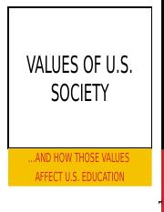 US_Education_Values.ppt