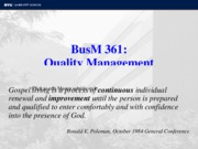 BusM 361 Quality Management Fall 10_1