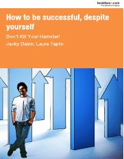 how-to-be-successful-despite-yourself