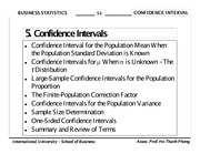 Chapter 06 - Confidence Interval