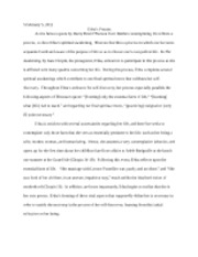 The Awakening Short Essay