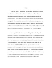 Annotated bibliography asa