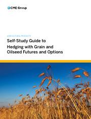 Self-Study Guide to Hedging with Grain and Oilseed Futures and Options