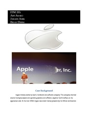 case study on apple inc Running head: harvard business case study: apple inc 1 harvard business case study: apple inc dennis stovall kaplan university gb 520 strategic human resources management march 25, 2014 harvard business case study: apple inc 2 abstract this business analysis focuses on the commercial enterprising activities of a world leading.