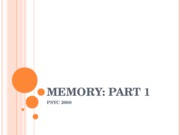 Psych 2000-Memory Modules 26-28