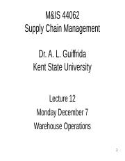 Lecture 12 Warehousing.ppt